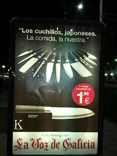 publicidad cuchillos japoneses voz galicia
