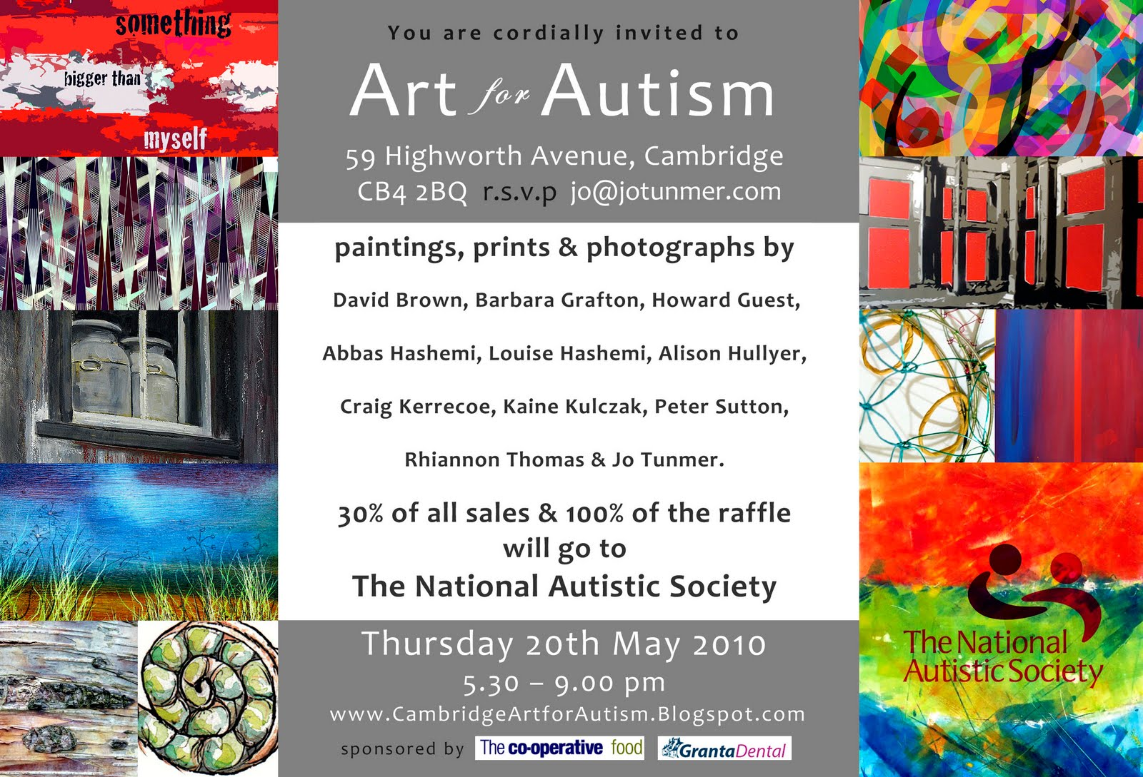 Alison hullyer art for autism whom i exhibited with in the christmas 10 show has gathered a group of eleven artist friends and organised an invitation only art exhibition event for stopboris Image collections