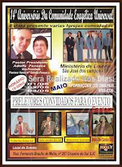 ESSE TRABALHO ACONTECERÁ NO DIA 05 DE MAIO DE 2010