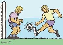 Voetballers - Bastiaan de Wit