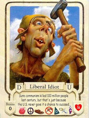 liberal idiot