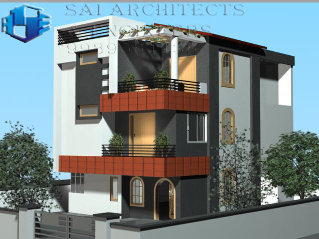 Sae 3d views funiture plans and interiors House plan 3d view