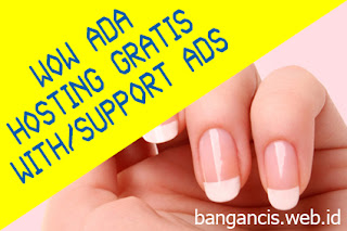 Hosting Gratis Support Iklan