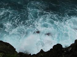 Estou aqui... a mergulhar neste oceano profundo!