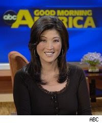 JuJu Change is a hot Asian news anchor