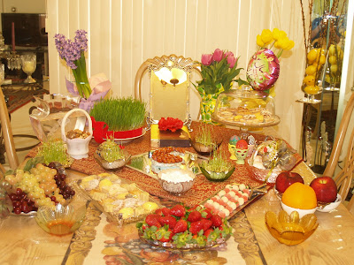 Haft Seen Decoration