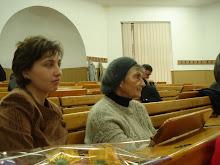 Doamnele Mariuca Vulcanescu si Ela Plic, prezente la sustinerea tezei mele de doctorat