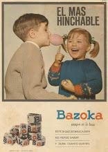 Bazoka, el chicle que machacaba mis dientes...