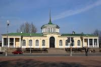 Bahnhofsgebaeude in Pawlowsk