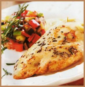 La cocina de caratarta pollo con naranja a las finas hierbas - Pollo asado a las finas hierbas ...