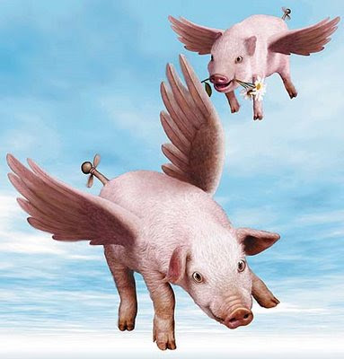 BarkingMagpie: When pigs fly.....!