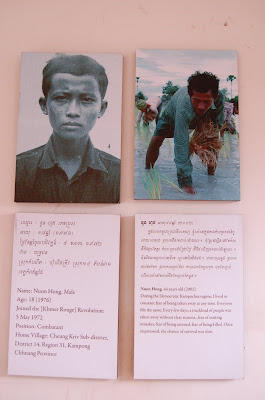 documentation display with two pictures and two panels of writing