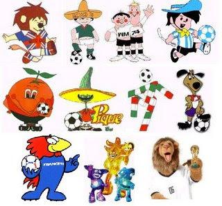 Las mascotas de los mundiales de futbol 1966 2010
