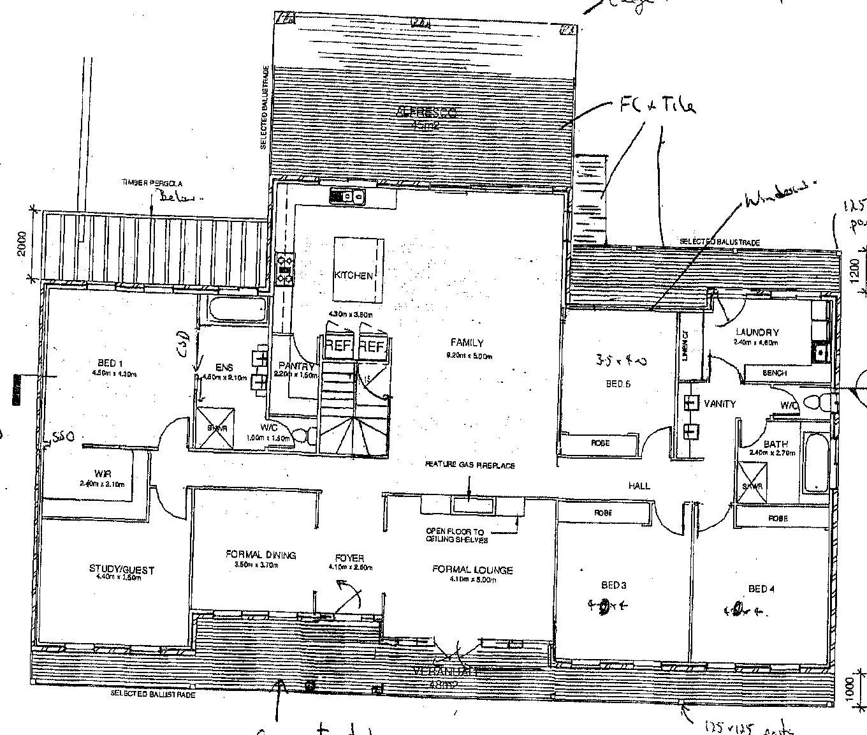 A Dream House for Trish A concept plan