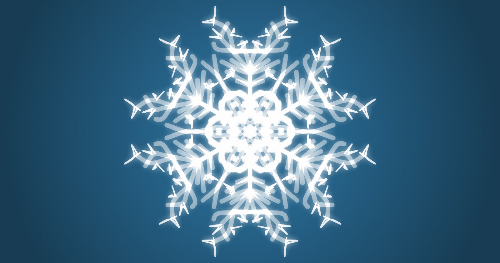 Snowflake Drawing Template -snowflakes have 6 sides so