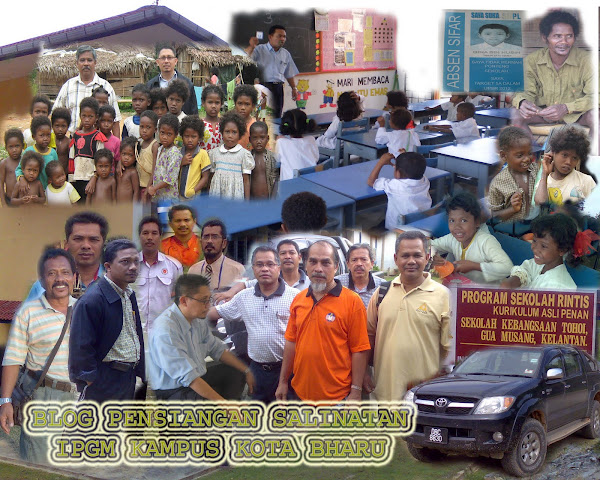 Blog Pedagogi Peribumi IPG Kampus Kota Bharu