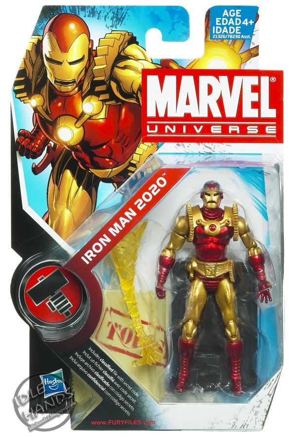 Boy Toys Packaging : Idle hands new hasbro marvel universe action figure images