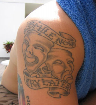 very disturb in your personal problem and this tattoos design is capture
