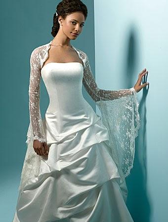 Wedding Blog: Bridal Dress With Jacket