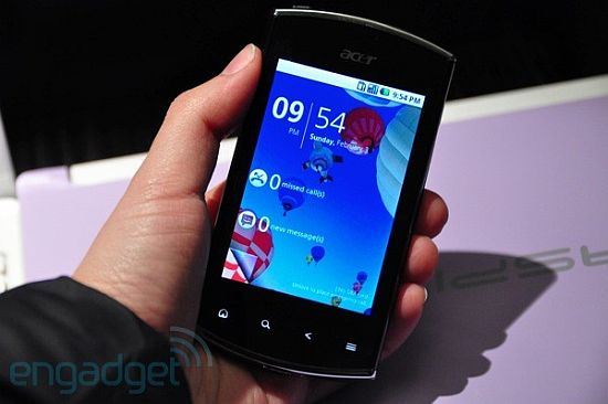 Acer Liquid Mini and BeTouch E210 Mobile | Mobile Zone