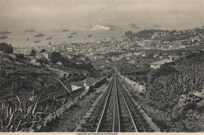 Ligação de comboio desde o Funchal até ao Monte