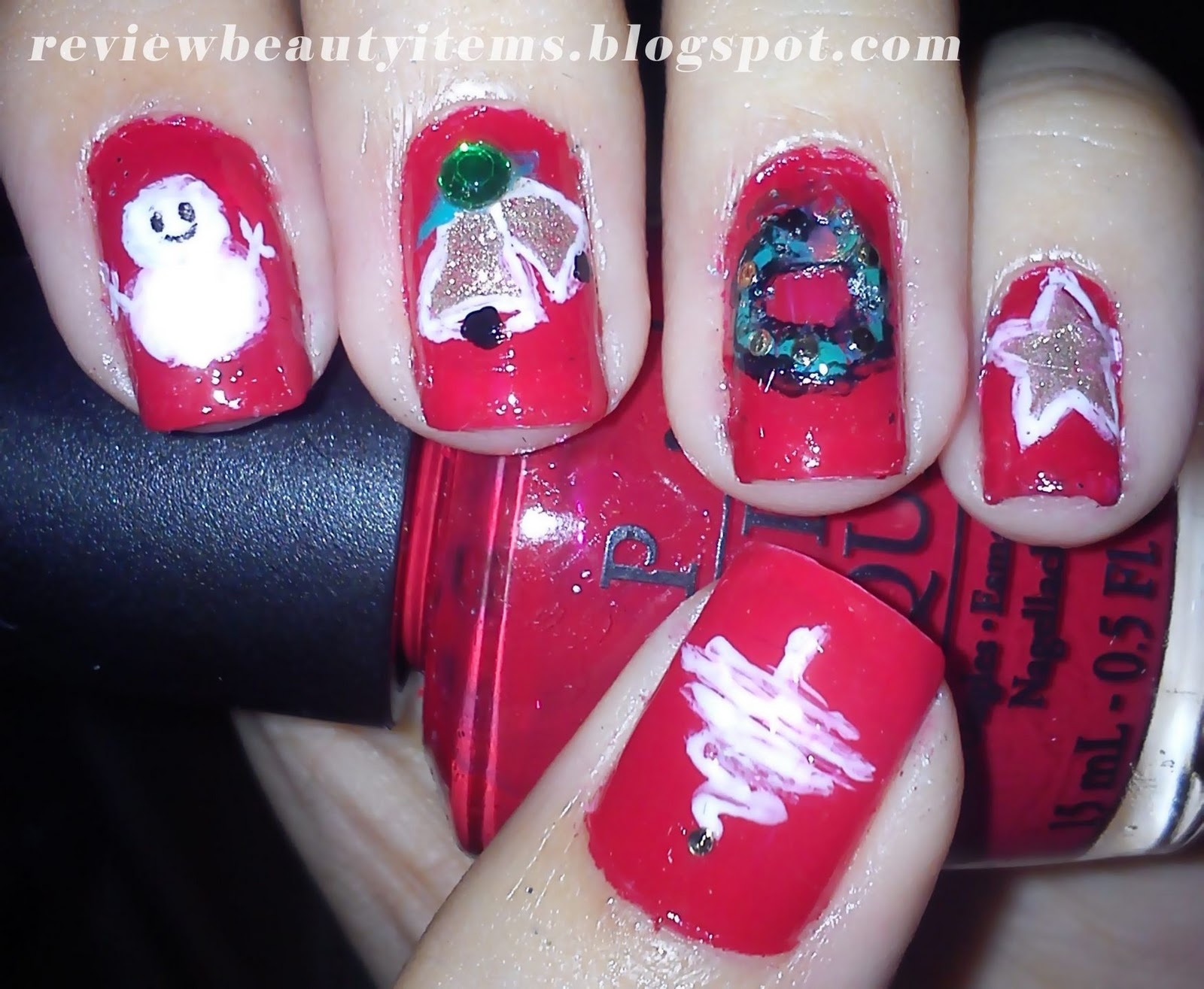 Christmas Nail Art Pictures - 17