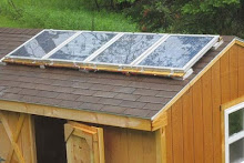 Jeff's solar panels.