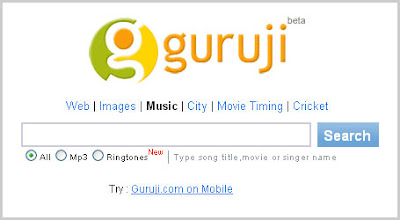 Guruji.com Screenshot with logo