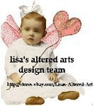 proud to be a design team member for Lisa's Altered Art