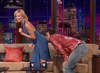 Dane Cook Kisses Charlize Theron's ass
