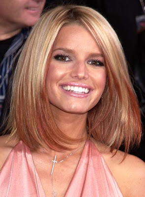 jessica simpson hair style photo