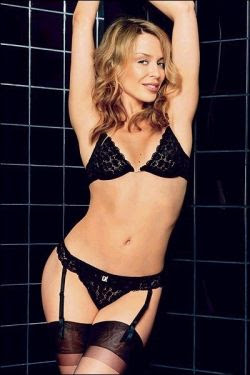 kylie minogue hot lingerie