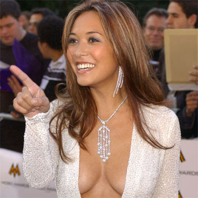 Myleene Klass sexy dress