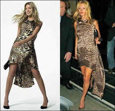 Kate Moss sexy dress