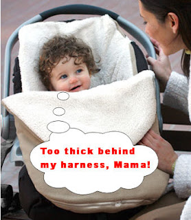 Car Seat Covers Unsafe