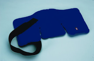 9x16 trisectional ice pack for neck and upper back