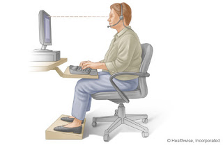 Have good posture while sitting can give your relief of lower back pain!