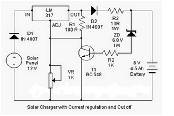 Hobby electronics circuits solar charger circuit diagram solar charger circuit diagram swarovskicordoba Image collections