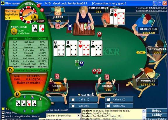 Bankroll management poker calculator