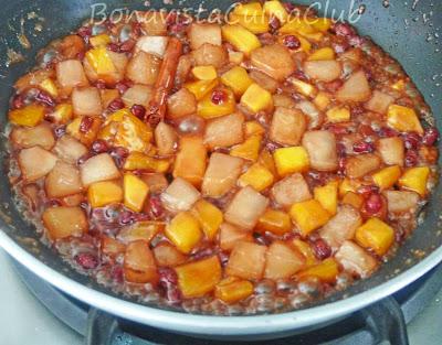 Receta Magret de Caneton lacado a la miel con chutney de frutas picantes, paso a paso