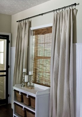Header My Take On Drop Cloth Drapes