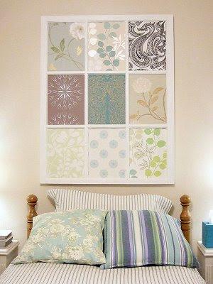 Window frame wallpaper inserts craftynest