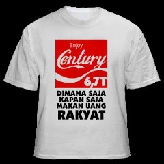 Kaos Tematik: Enjoy Century 6,7 T Dimana Saja Kapan Saja Makan Uang Rakyat