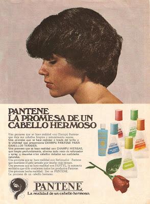 Publicidad Pantene 1976
