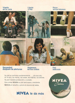 Publicidad Nivea 1977