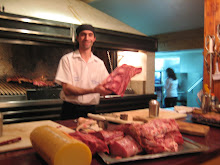 Steak House(Parrilla) in Bariloche- (Best meal so far)
