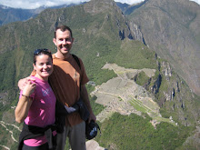Eric and Erika at Machu Picchu