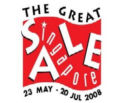 happy singapore shopping at the great singapore sale 2008