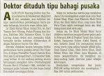 Keratan Akhbar berkaitan dengan harta pusaka