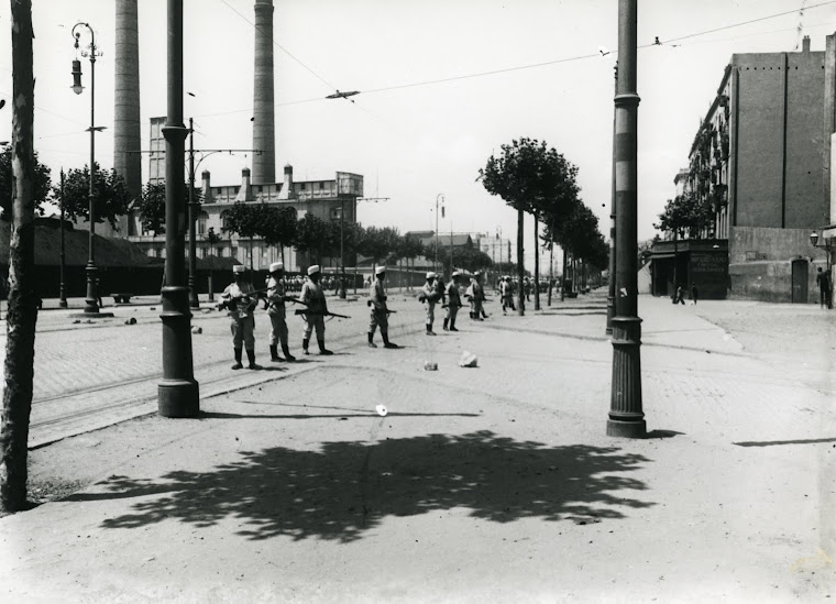 Soldats al Paral·lel juliol 1909